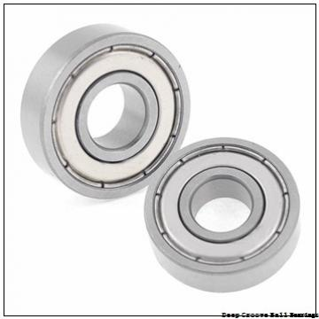8 mm x 24 mm x 8 mm  skf W 628-2RS1 Deep groove ball bearings