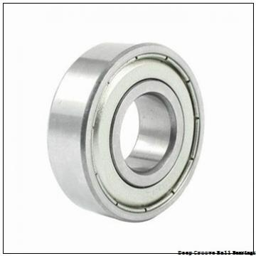 25 mm x 62 mm x 17 mm  skf 305-ZNR Deep groove ball bearings