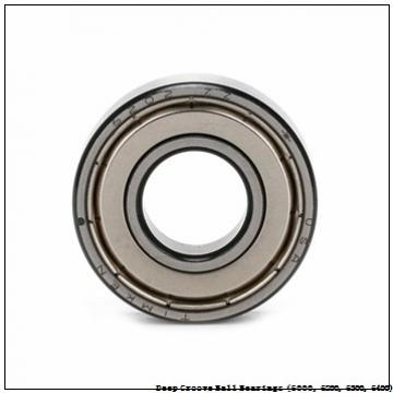 timken 6206-2RS-NR Deep Groove Ball Bearings (6000, 6200, 6300, 6400)
