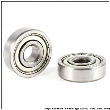 timken 6009-2RZ-NR Deep Groove Ball Bearings (6000, 6200, 6300, 6400)