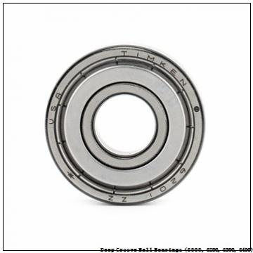 timken 6201-2RS-NR-C3 Deep Groove Ball Bearings (6000, 6200, 6300, 6400)