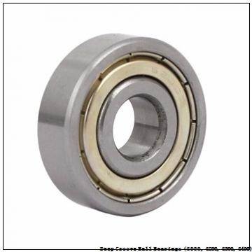timken 6009-2RS-NR Deep Groove Ball Bearings (6000, 6200, 6300, 6400)