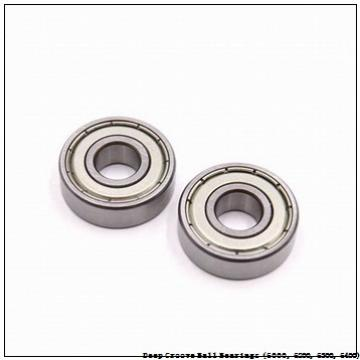 1.3780 in x 2.8350 in x 0.6690 in  timken 6207-2RS-NR Deep Groove Ball Bearings (6000, 6200, 6300, 6400)