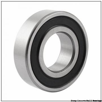 10 mm x 19 mm x 5 mm  skf W 61800-2RS1 Deep groove ball bearings